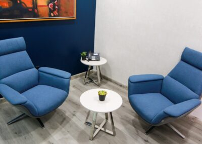 Suite Cube con Sofá | MedSuites